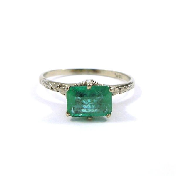 Vintage Emerald Ring Joint Venture Jewelry Cary, NC