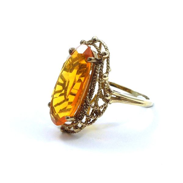 Vintage Citrine Ring Image 2 Joint Venture Jewelry Cary, NC