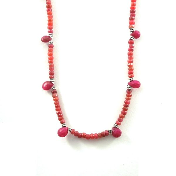 Ruby Necklace Joint Venture Jewelry Cary, NC