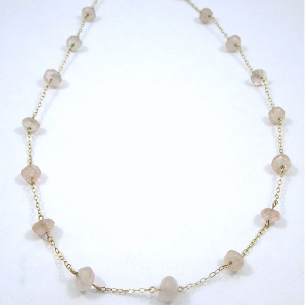 Rose Quartz Necklace Joint Venture Jewelry Cary, NC