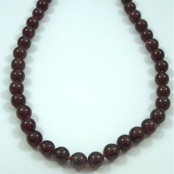 Garnet Bead Necklace Joint Venture Jewelry Cary, NC