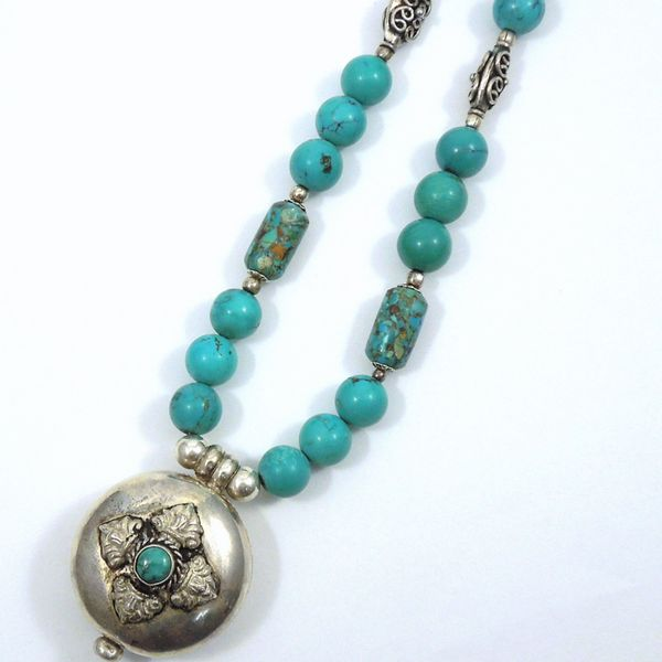 Turquoise Necklace Joint Venture Jewelry Cary, NC