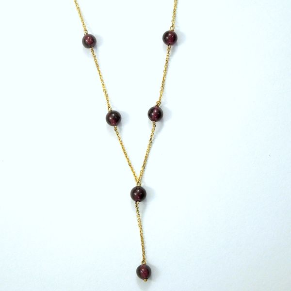 Garnet Beaded Necklace Joint Venture Jewelry Cary, NC