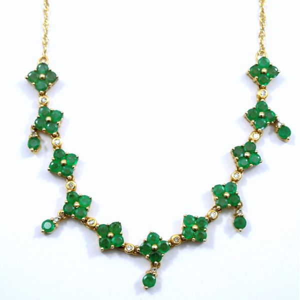 Emerald Necklace Joint Venture Jewelry Cary, NC