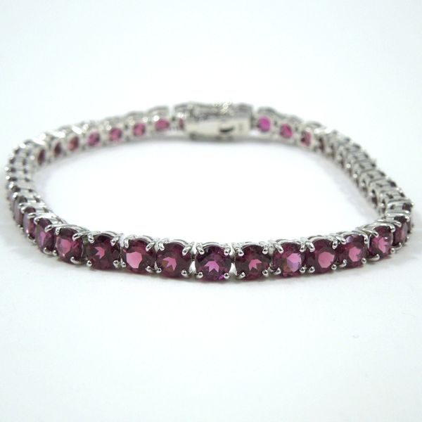 Purple Garnet Bracelet Joint Venture Jewelry Cary, NC