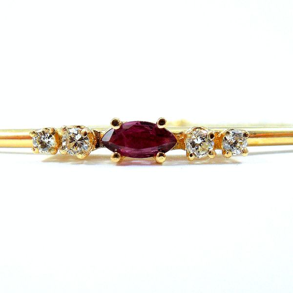 Ruby & Diamond Bracelet Image 2 Joint Venture Jewelry Cary, NC