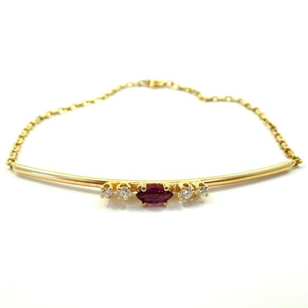 Ruby & Diamond Bracelet Joint Venture Jewelry Cary, NC