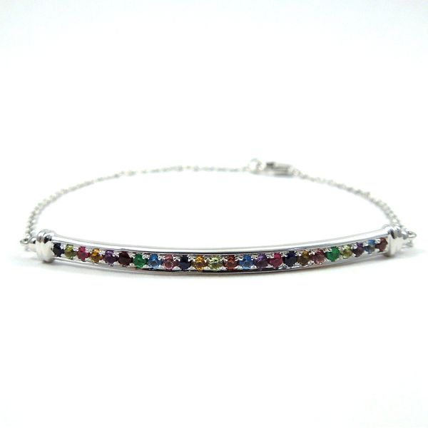 Multi-Color Bar Bracelet Joint Venture Jewelry Cary, NC