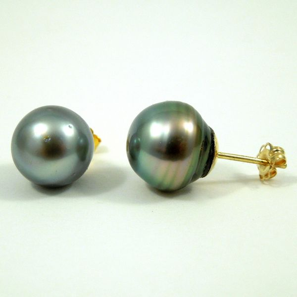 Tahitian Pearl Studs Joint Venture Jewelry Cary, NC