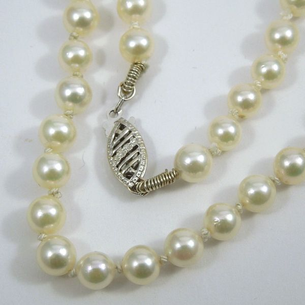 Akoya Pearl Necklace Joint Venture Jewelry Cary, NC