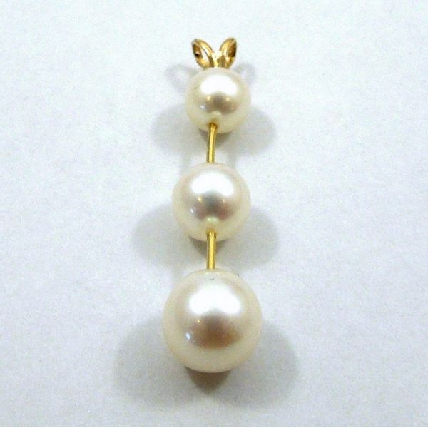 Pearl Drop Pendant Joint Venture Jewelry Cary, NC