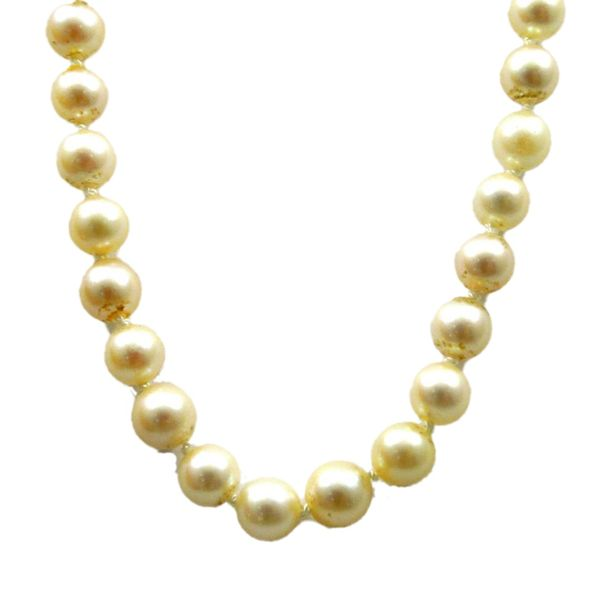 Pearl Necklace Image 2 Joint Venture Jewelry Cary, NC