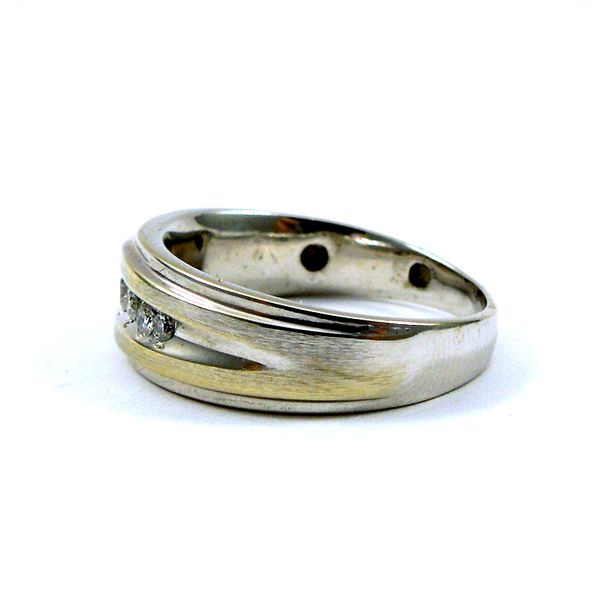 Men's Wedding Band Image 2 Joint Venture Jewelry Cary, NC