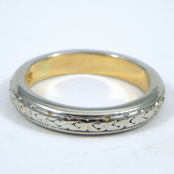 Engraved Wedding Band Joint Venture Jewelry Cary, NC