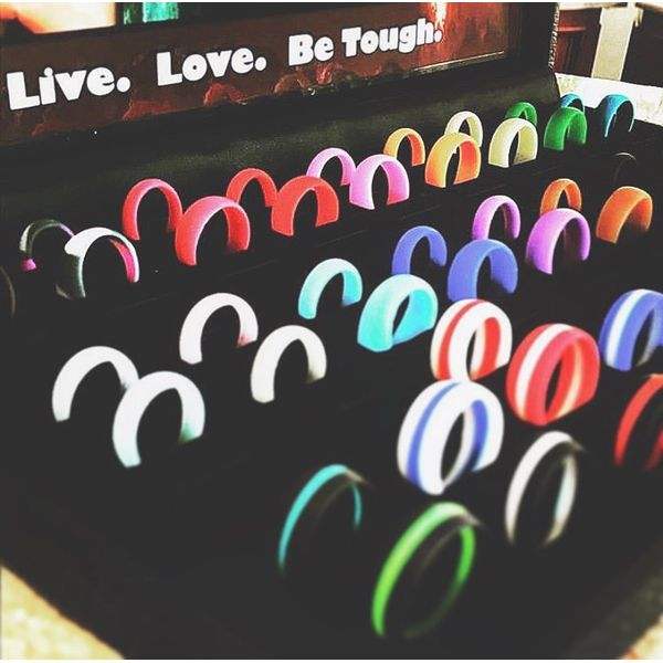 Tough Love Rings Joint Venture Jewelry Cary, NC