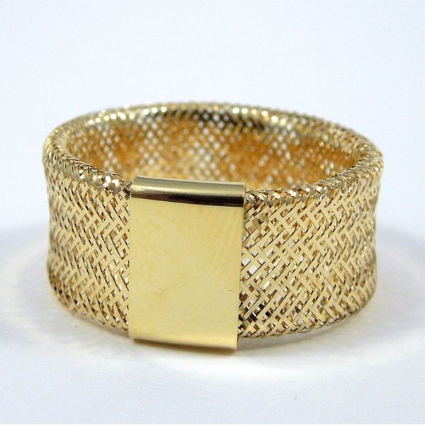 Mesh Ring Joint Venture Jewelry Cary, NC