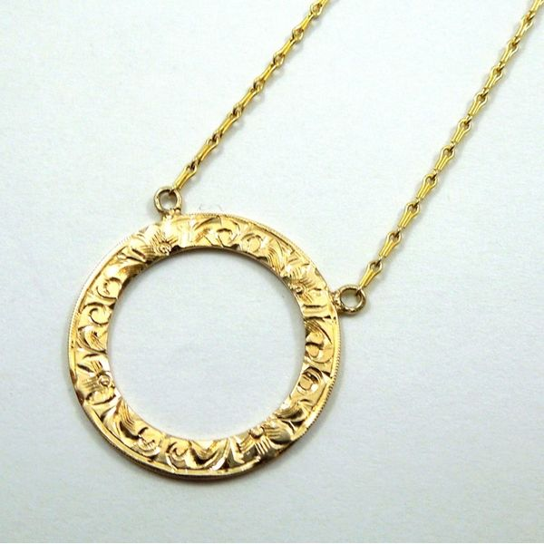 Vintage Circle Necklace Joint Venture Jewelry Cary, NC