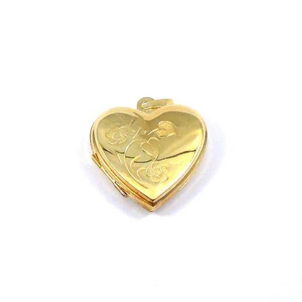 Heart Locket Joint Venture Jewelry Cary, NC
