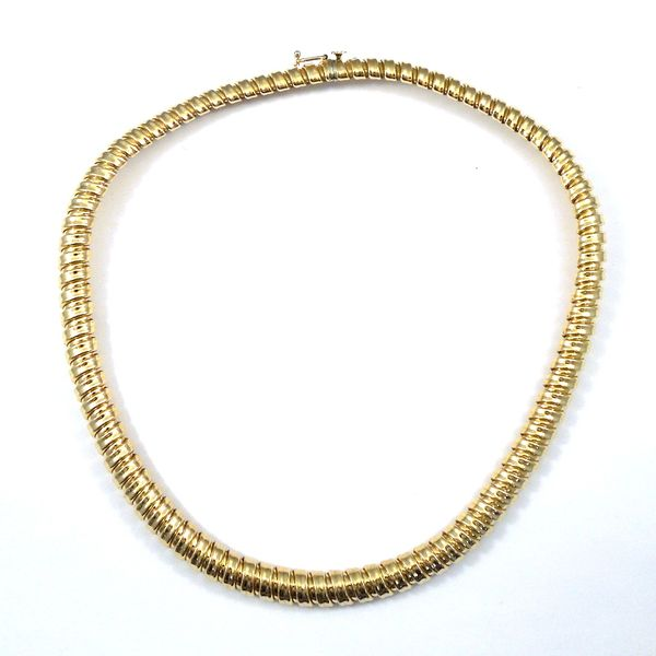 Yellow Gold Choker Joint Venture Jewelry Cary, NC