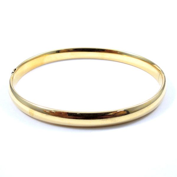 Gold Bangle Bracelet Joint Venture Jewelry Cary, NC