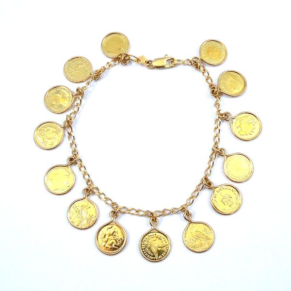 Medallion Bracelet Joint Venture Jewelry Cary, NC