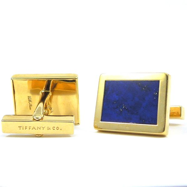 Tiffany & Company Lapis Cuff Links Image 2 Joint Venture Jewelry Cary, NC