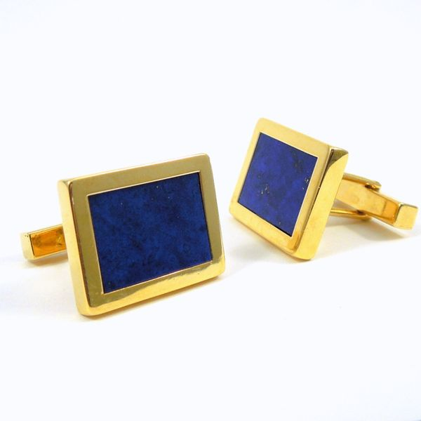 Tiffany & Company Lapis Cuff Links Joint Venture Jewelry Cary, NC