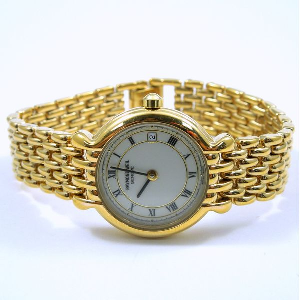 Gold Raymond Weil Watch Joint Venture Jewelry Cary, NC