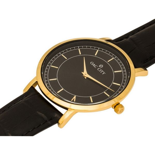 Pyxis Gold & Black OAC City Watch Image 2 Joint Venture Jewelry Cary, NC