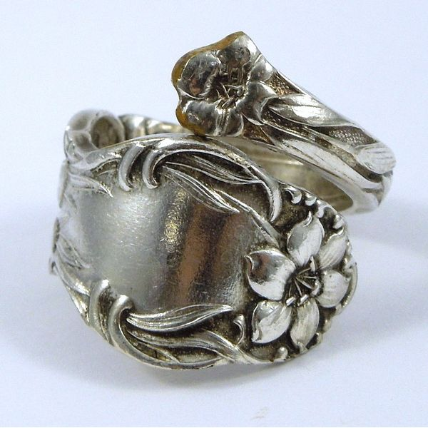 Silver Spoon Ring Joint Venture Jewelry Cary, NC