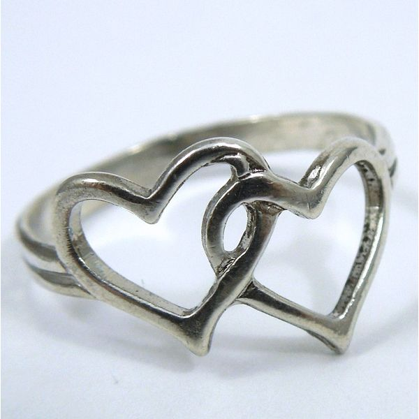 Sterling Silver Heart Ring Joint Venture Jewelry Cary, NC