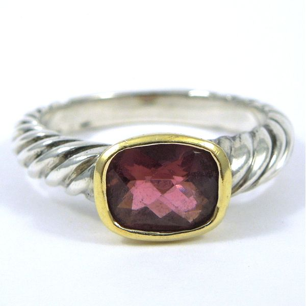 Pink Tourmaline David Yurman Ring Joint Venture Jewelry Cary, NC