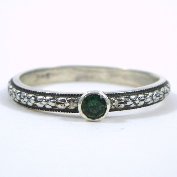 Green Topaz Ring Joint Venture Jewelry Cary, NC
