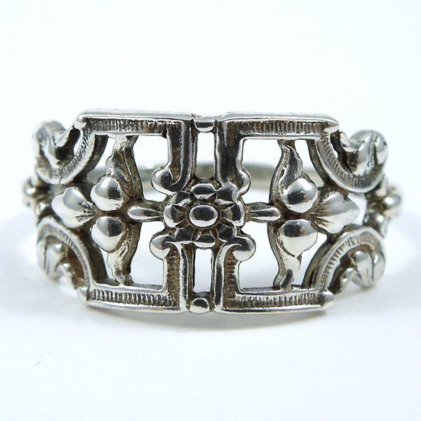 Open Work Filigree Ring Joint Venture Jewelry Cary, NC