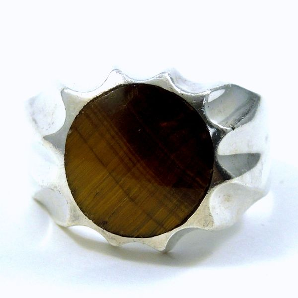 Gents Tiger Eye Ring Joint Venture Jewelry Cary, NC