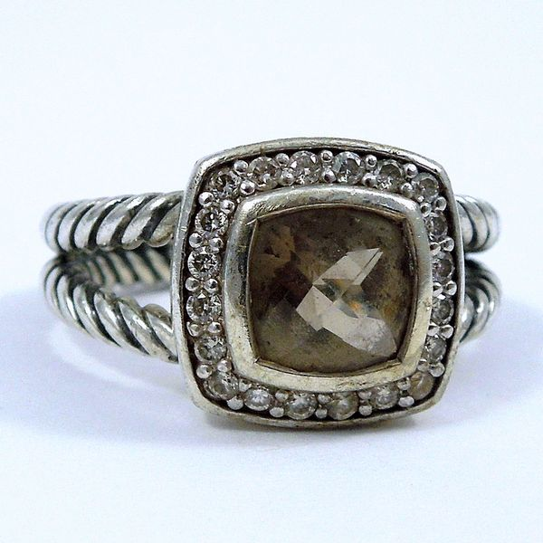 David Yurman Smoky Topaz Ring Joint Venture Jewelry Cary, NC