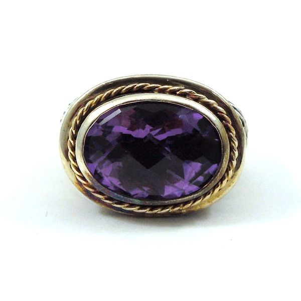 Oval Amethyst Ring Joint Venture Jewelry Cary, NC
