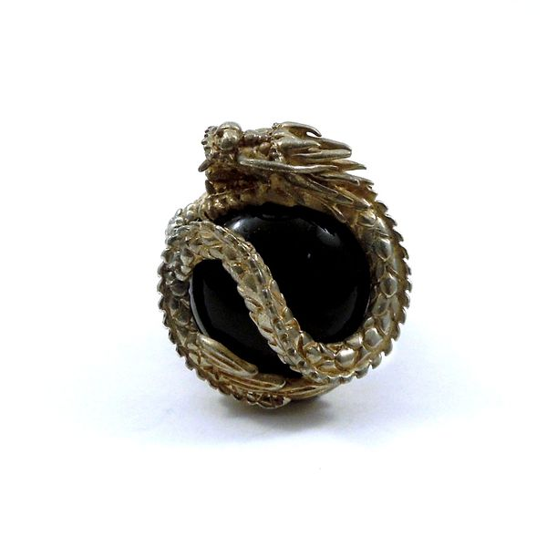 Onyx Dragon Ring Joint Venture Jewelry Cary, NC