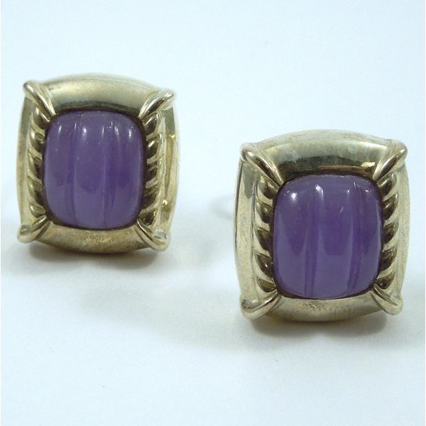Purple Stone Earrings Joint Venture Jewelry Cary, NC