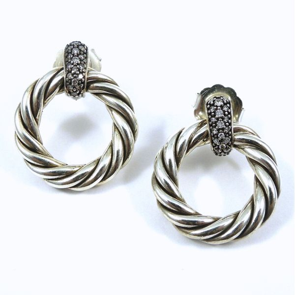 David Yurman Cable Circle Earrings Joint Venture Jewelry Cary, NC