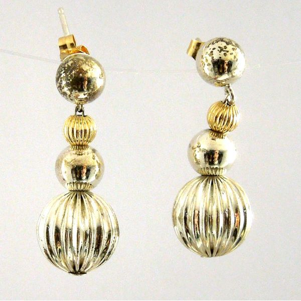 Lagos Caviar Ball Earrings Joint Venture Jewelry Cary, NC