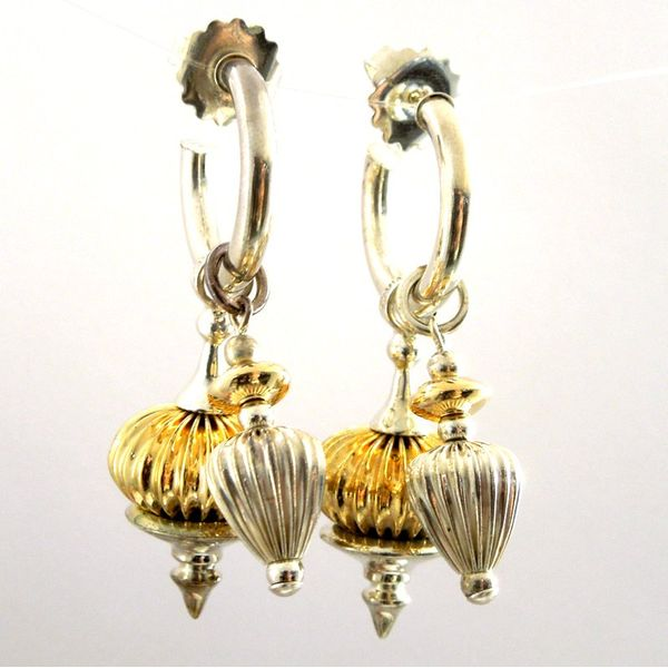 Lagos Caviar Double Drop Earrings Joint Venture Jewelry Cary, NC
