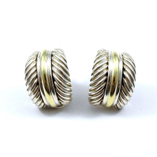 David Yurman Cable Earrings Joint Venture Jewelry Cary, NC
