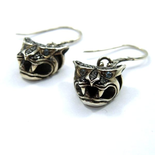John Hardy Panther Earrings Image 2 Joint Venture Jewelry Cary, NC