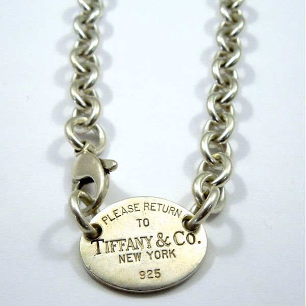 Please Return to Tiffany Necklace Joint Venture Jewelry Cary, NC