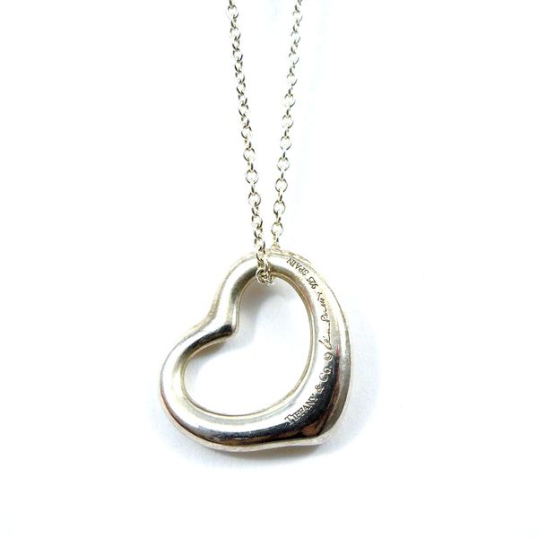 Tiffany & Co Heart Pendant Joint Venture Jewelry Cary, NC