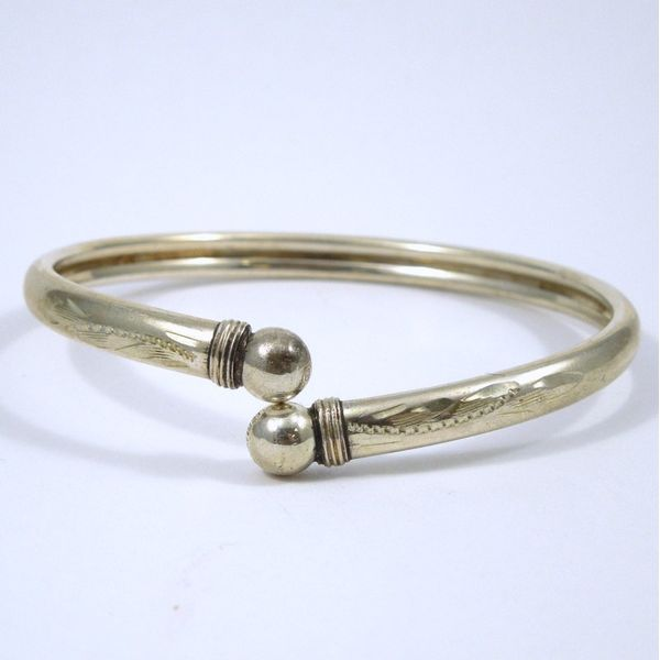 Silver Flex Bangle Joint Venture Jewelry Cary, NC