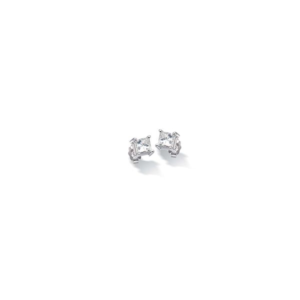 Princess Cut Diamond Stud Earrings J. Schrecker Jewelry Hopkinsville, KY