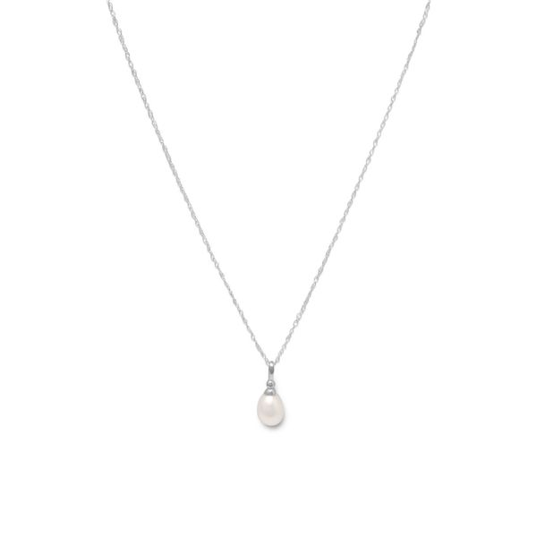 Pearl Pendant in Sterling Silver J. Schrecker Jewelry Hopkinsville, KY