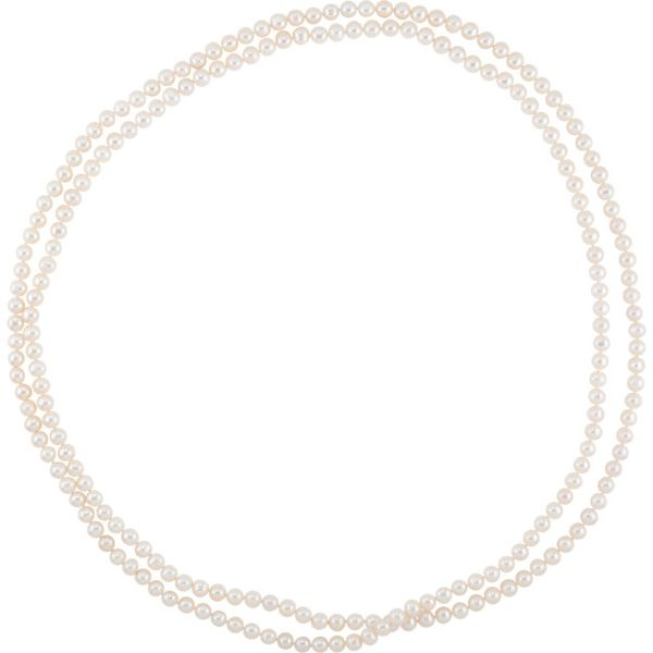 72 Inch White Freshwater Pearl Strand Necklace J. Schrecker Jewelry Hopkinsville, KY